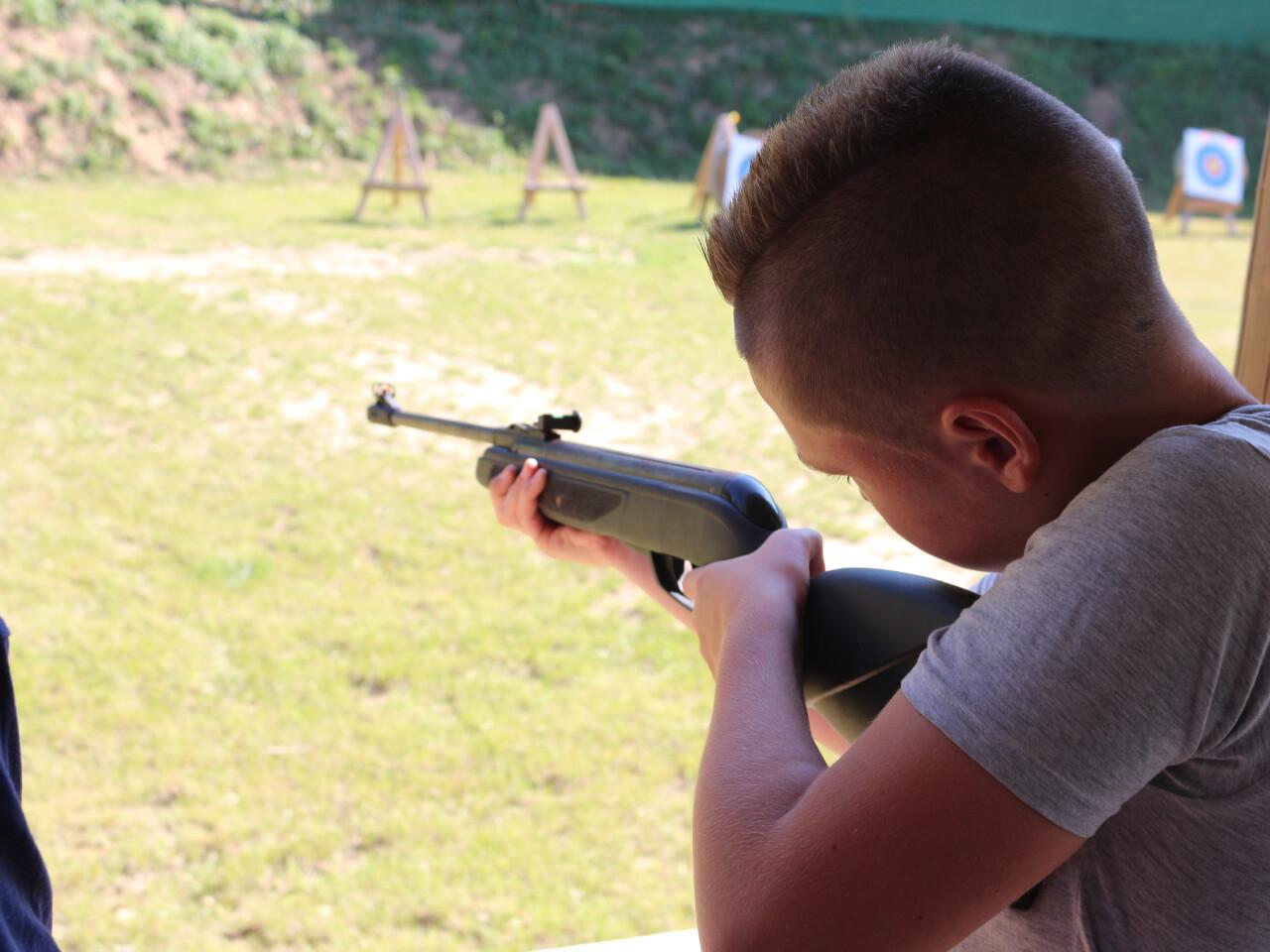 Tir à la carabine à air comprimé et à la sarbacane n'est actuellement pas réservable